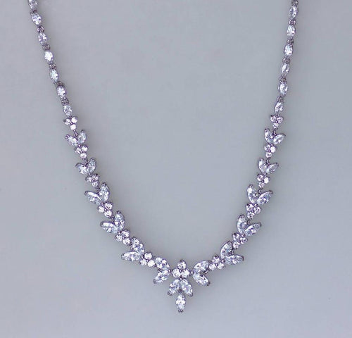 Crystal Bridal Necklace, DENISE