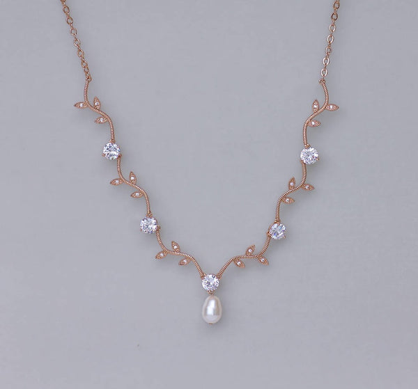 Rose Gold Bridal Set, VINE RGP