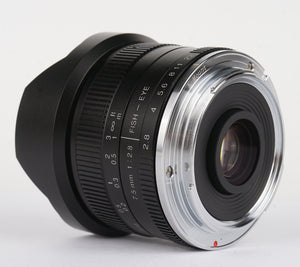 7Artisans 7.5mm F2.8 Fisheye Lens (APS-C)