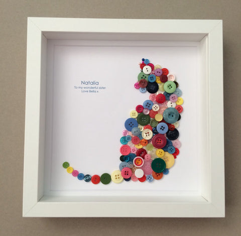 button art by sophie cat print