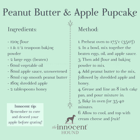 Easy dog cake recipe | Healthy dog treats | The Innocent Hound