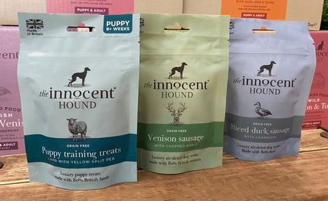 The Innocent Hound recyclable packaging
