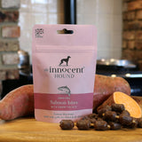 grain free dog treats. salmon fish healhy dog treats
