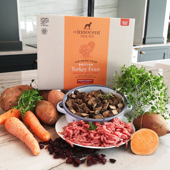 Air-dried Food - British Turkey Feast 3KG