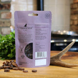 Luxury cat treats. Thin slices of venison sausages.  Grain free.