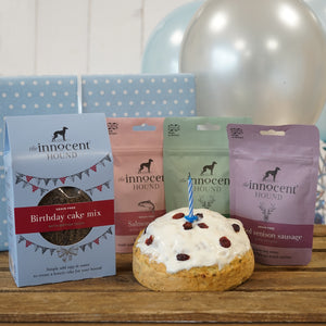 Birthday Gift Box for Dogs | Healthy Dog Treats | The Innocent Hound