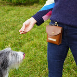 Luxury Leather Treat Pouch