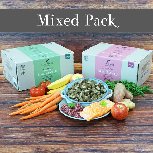 Air dried dog food mixed pack