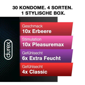 Durex Love Collection Kondome 30er - Black Box