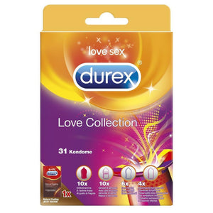 Durex Love Collection, 31 Kondome, vorn