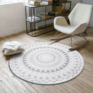 Tapis rond collection Circle - Les P'tits Fouineurs