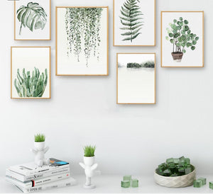 Toiles collection Green Plants - Les P'tits Fouineurs
