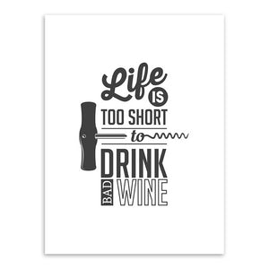 Toiles collection Wine is my Best Friend - Les P'tits Fouineurs