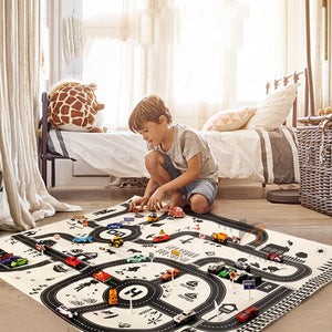 "Tapis de jeu ""On the road"""