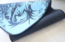 Azure Blue Dragon Gaming Mouse Pad with Edge Stitching XL OnFire Gaming