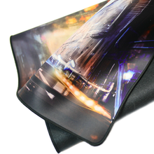 Masterpiece Artistic Abstract Gaming Mouse Mat with Edge Stitching XXL