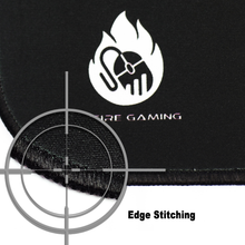 Gamers Advantage Mouse Pad with Edge Stitching XL OnFire Gaming