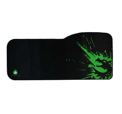 Emerald Green Dragon Gaming Mouse Pad with Edge Stitching XL OnFire Gaming