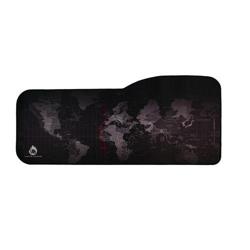 Satellite World Map OnFire Gaming Mouse Pad with Edge Stitching XL OnFire Gaming