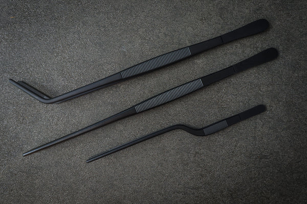 SEIDO Chef's Black Matte Tweezer