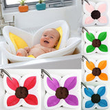 2 IN 1 Baby Lotus Plush Flower Bath And Play Mat 4 Or 7 Petals-baby bath accessory-Free Item Online