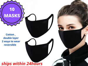 Wholesale face mask Reuseable Washable Reversible Cloth Fabric Mouth Cover-wholesale masks usa-Free Item Online-Free Item Online