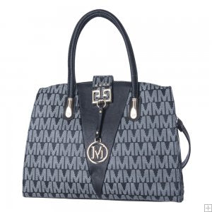 Women Monogram Black Handbag SH01-Handbag-Free Item Online