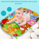 Best Baby Play Foam Activity Gym  Music Mat Carpet Toys Kid Crawling Play mat Game Develop Mat with Piano Keyboard Infant Rug Early Education Rack Toy