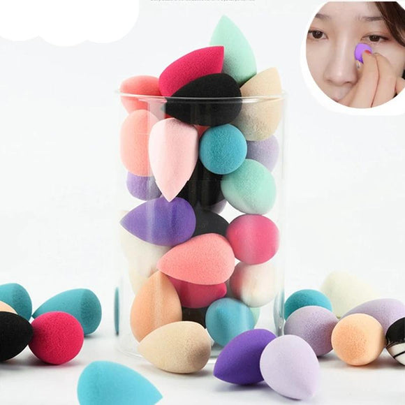 20pcs Mini Cosmetic Foundation Puff Beauty Blender Makeup Sponge