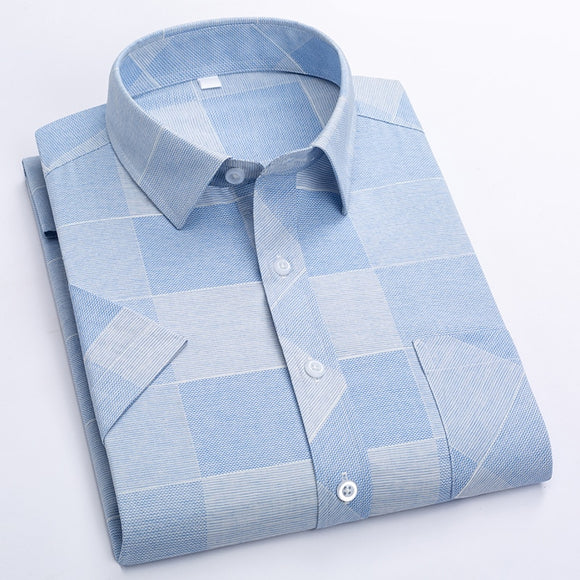 Fashion Plaid Cotton Casual Shirts