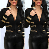 Laden Women Jacket Bodycon