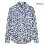 Jenkins Cotton Men Designer Shirt
