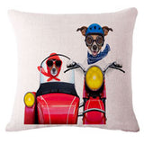New Fashion Cushion Decorative Cotton Pillow Case Cover.-pillow case-Trike Dog-Free Item Online