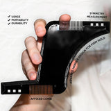 Plastic Beard Shaping Tool Men Trimmer Template Hair Cut-men accessories-Free Item Online