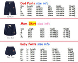 Summer Family Clothing Matching Set Outfits-Family clothing Sets-freeitemonline.com-Free Item Online