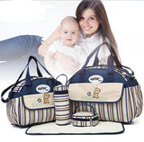 Baby Diaper Nappy Bag Fashion Maternity Mummy Handbag-BABY-Dark Blue-Free Item Online