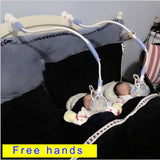 Doodle Hands Free Baby Feeding Bottle Support Clip-baby feeding bottle holder-Free Item Online