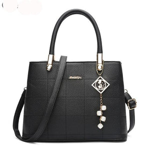 Women Leather Tote Bag Luxury Handbag A405-handbags sets-Free Item Online