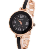Grandel Women's Rose Gold Bracelet Crystal Wrist Watch-womens wrist watch-7-Free Item Online