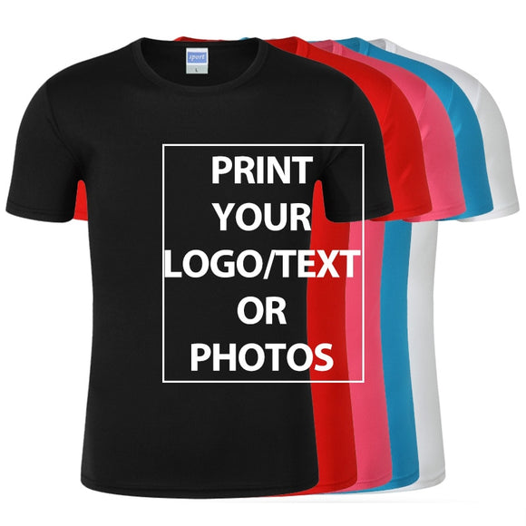 Custom Design Your Own T-shirts Printing Brand Logo-women tops-Free Item Online-Free Item Online