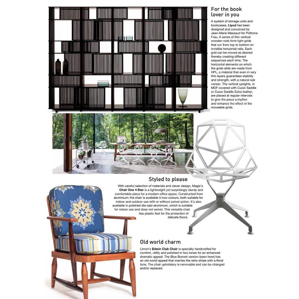 Home & Design TRENDS | June 2016 issue | Blue Bonnet Edwin Club