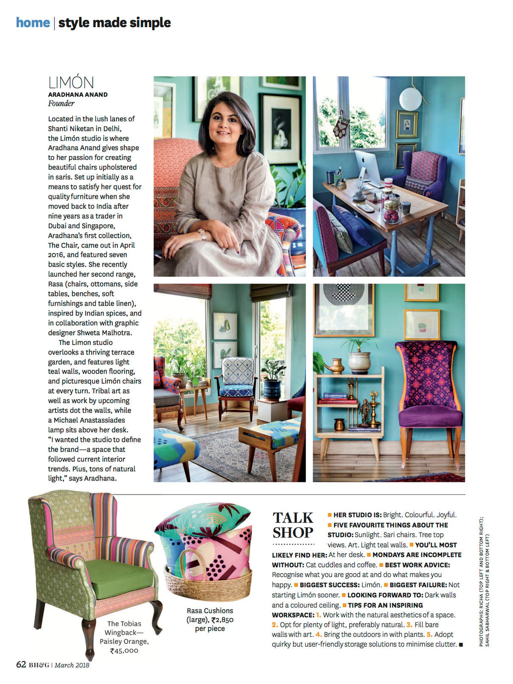 Better Homes & Gardens India | March 2018 issue | Control Centre