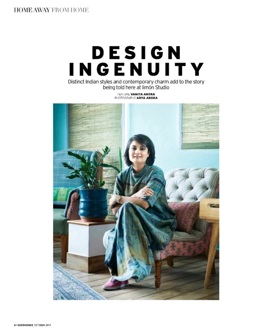 GoodHomes India | October 2017 issue | Design Ingenuity