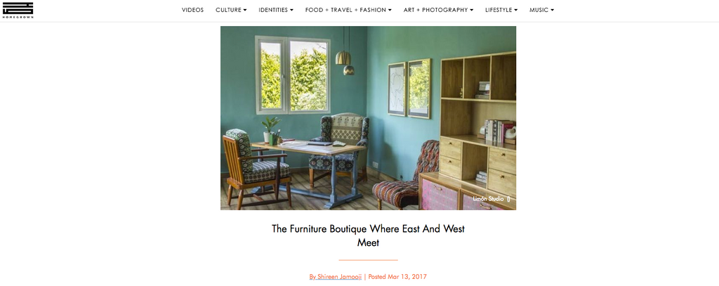 Homegrown | March 2017 | The Furniture Boutique Where East And West Meet