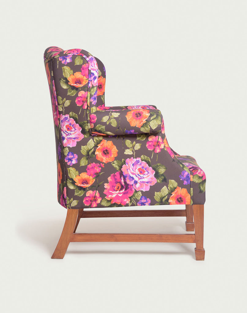 The Daisy Wingback | Floral Squash