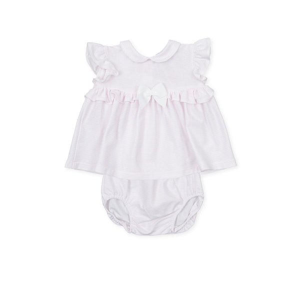 TUTTO PICCOLO Pink Dress Set