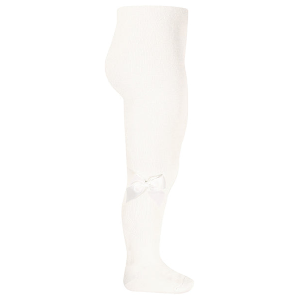 Ivory Tights with Bow