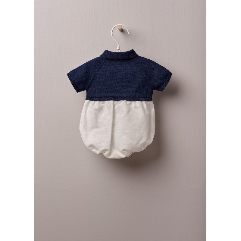 WEDOBLE Navy Polo Shortie