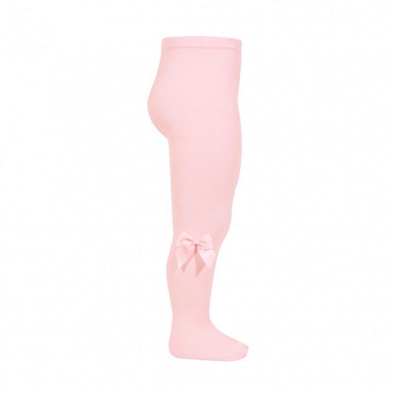Pink Condor Tights with Bow