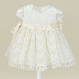 AMAYA Cream Lace Dress